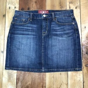 Lucky Brand Women's Jean Mini Skirt Size 6 / 28